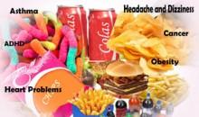 افزودنی های غذایی مضر